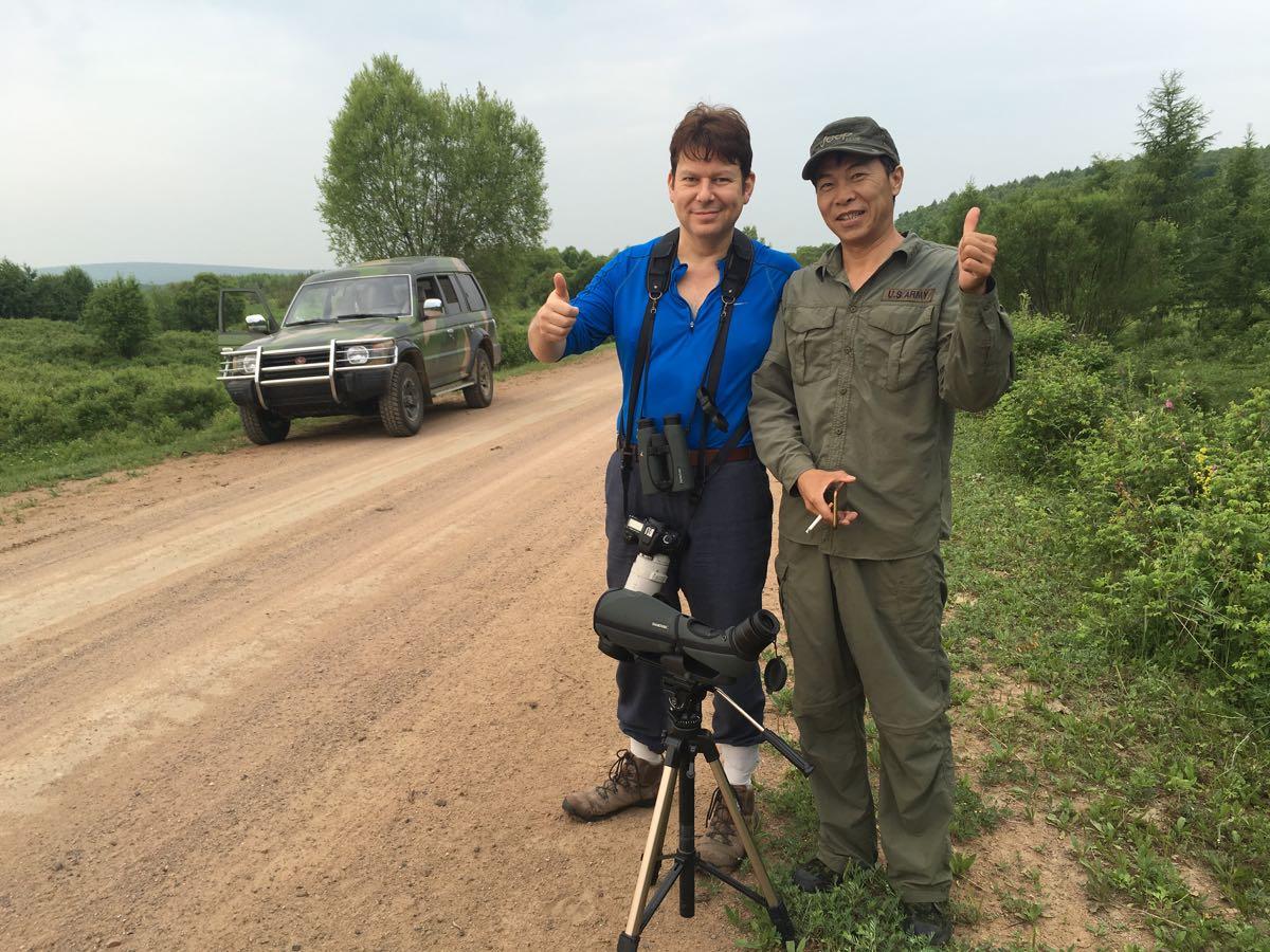 2016-07-10 Zhang Wu and Nick Green at Wuerqihan