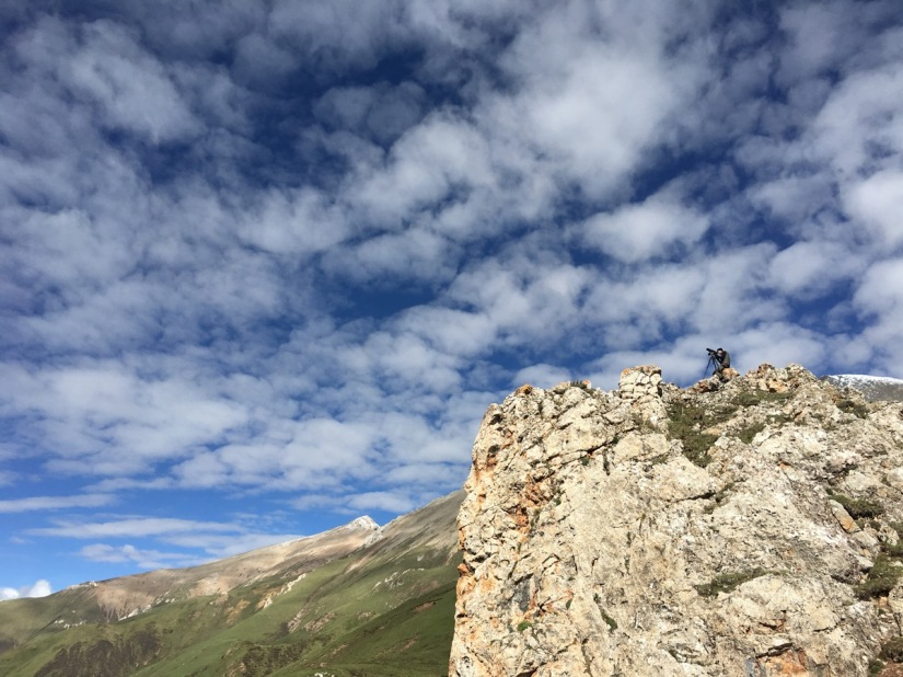 Snow Leopard Watching inQinghai